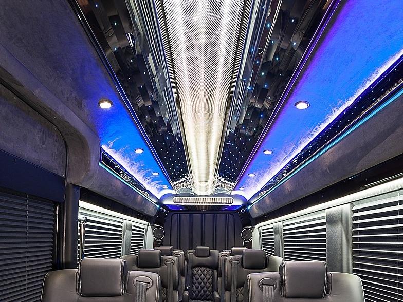 Envy ceiling in custom sprinter