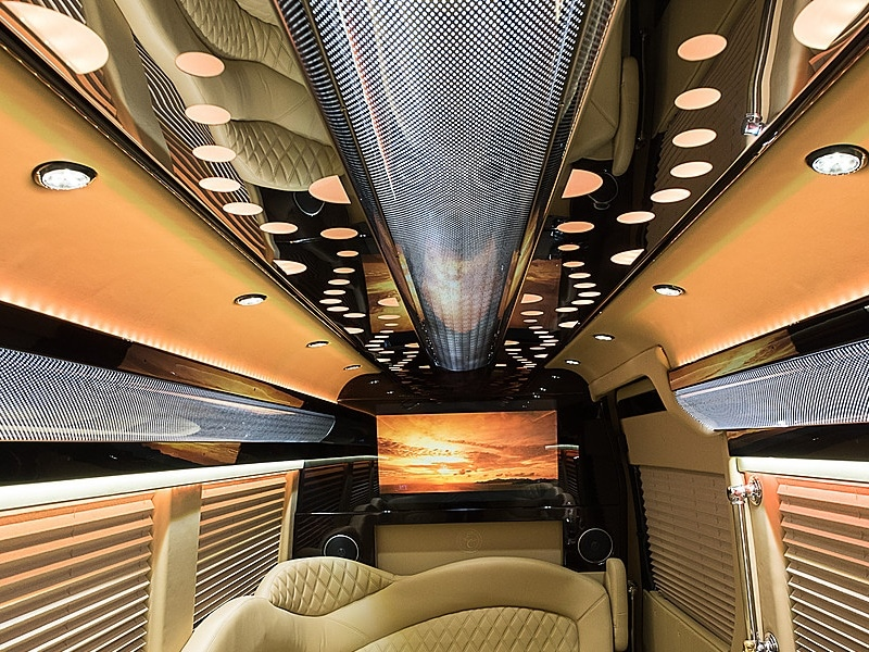 Evo ceiling in Mercedes Sprinter