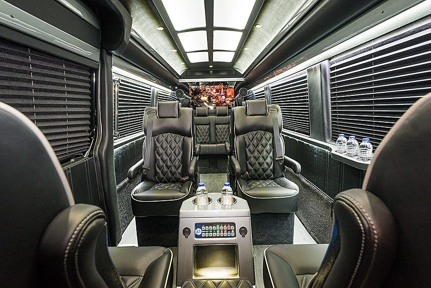 Maybach ceiling option for Sprinter